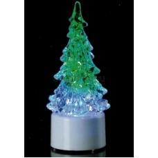 """Фигура светодиодная на подставке """"Елочка маленькая"""", RGB, Neon-Night 501-041"""