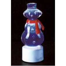 """Фигура светодиодная на подставке """"Снеговик с шарфом"""", RGB, Neon-Night 501-046"""
