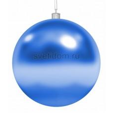"Елочная фигура ""Шар"", 20 см, цвет синий, Neon-Night 502-003"