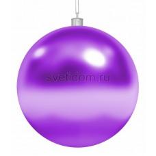 """Елочная фигура """"Шар"""", 20 см, цвет фиолетовый, Neon-Night 502-007"""