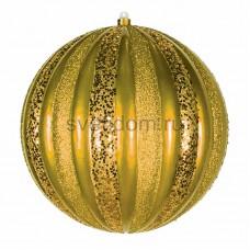 """Елочная фигура """"Арбуз"""", 25 см, цвет золотой, Neon-Night 502-081"""