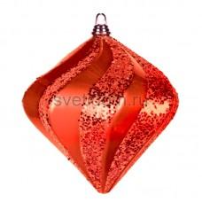 """Елочная фигура """"Алмаз"""", 15 см, цвет красный, Neon-Night 502-162"""
