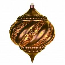 """Елочная фигура """"Лампа"""", 20 см, цвет золотой, Neon-Night 502-191"""