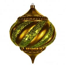"""Елочная фигура """"Алмаз"""", 25 см, цвет золотой, Neon-Night 502-211"""