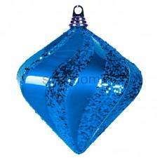 "Елочная фигура ""Алмаз"", 25 см, цвет синий, Neon-Night 502-213"