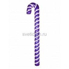 """Елочная фигура """"Карамельная палочка"""" 121 см, цвет фиолетовый/белый, Neon-Night 502-247"""