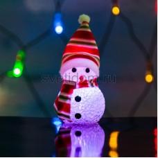 "Фигура светодиодная ""Снеговик"" 10 см, RGB, Neon-Night 513-019"