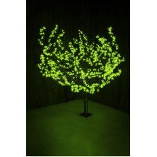 """Светодиодное дерево """"Сакура"""", высота 1,5 м, диаметр кроны 1,8 м, зеленый, Neon-Night 531-104"""