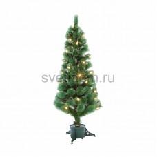 Новогодняя Ель с шишками 150 см фибро-оптика, теплый белый, Neon-Night 533-216