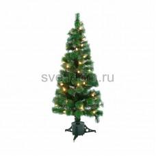 Новогодняя Ель с шишками 180 см фибро-оптика, теплый белый, Neon-Night 533-226
