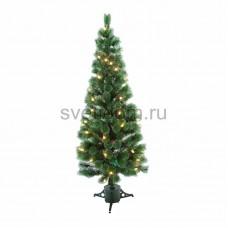 Новогодняя Ель с шишками 210 см фибро-оптика, теплый белый, Neon-Night 533-236