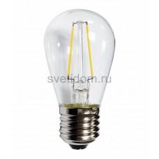 Ретро лампа Filament ST45 Е27, 2W, 230V Теплая белая 3000K, Neon-Night 601-801