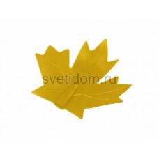 """Колпачок """"кленовый лист"""" (для дюраплей) желтый, Neon-Night CC-1-14"""