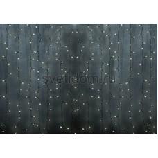 Гирлянда Светодиодный Дождь 2*3м, постоянное свечение, прозрачный провод, 220В, диоды мультиколор Neon-Night 235-159-6