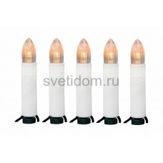 Гирлянда Свечи LED 6 м, 40 диодов, цвет теплый белый Neon-Night 303-084