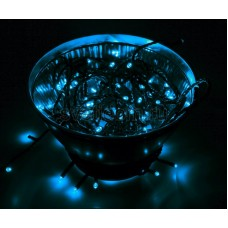 Гирлянда Твинкл Лайт 10 м, 100 диодов, цвет синий Neon-Night 303-133