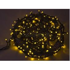 Гирлянда Твинкл Лайт 20 м, 240 диодов, цвет желтый, черный провод каучук Neon-Night 303-321