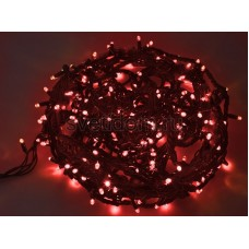 Гирлянда Твинкл Лайт 20 м, 240 диодов, цвет красный, черный провод каучук Neon-Night 303-322