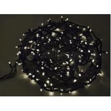 Гирлянда Твинкл Лайт 20 м, 240 диодов, цвет белый, черный провод каучук Neon-Night 303-325