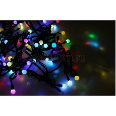 Гирлянда LED - шарики, RGB, ф13 мм, 20 м Neon-Night 303-509-1