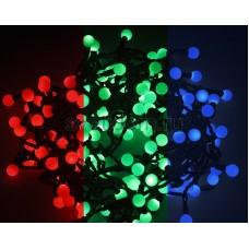 Гирлянда LED - шарики, RGB, ф23 мм, 10м Neon-Night 303-519