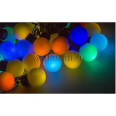Гирлянда LED - шарики, RGB, ф23 мм, 5 м Neon-Night 303-559