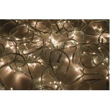 Гирлянда модульная Дюраплей LED 20м 200 LED белый каучук тепло-белая Neon-Night 315-146