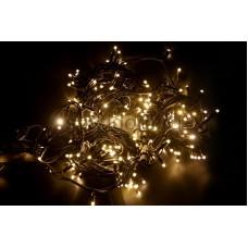 Гирлянда модульная Дюраплей LED 20м 200 LED черный провод, мерцающий Flashing (каждый 5-й диод), диоды тепло-белые Neon-Night 315-176