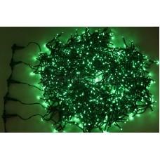"""Гирлянда """"LED ClipLight"""" 24V, 5 нитей по 20 метров, цвет диодов Зеленый, Flashing (Белый) Neon-Night 323-604"""