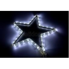 "Фигура световая ""Звездочка LED"" цвет белый, размер 30*28 см Neon-Night 501-211-1"