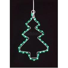"Фигура ""Елочка"" цвет зеленый, размер 31*25 см Neon-Night 501-213"