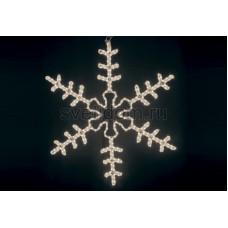 """Фигура """"Большая Снежинка"""" цвет тепло-белый, размер 95*95 см Neon-Night 501-313"""