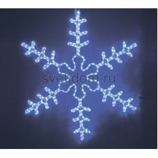 """Фигура световая """"Большая Снежинка"""" цвет синий, размер 95*95 см Neon-Night 501-332"""