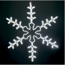 """Фигура световая """"Большая Снежинка"""" цвет белый, размер 95*95 см Neon-Night 501-333"""