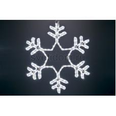 """Фигура световая """"Снежинка"""" цвет белый, без контроллера, размер 55*55см Neon-Night 501-334"""