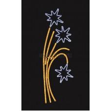 """Фигура световая """"Звездный фейерверк"""" размер 85*175 см Neon-Night 501-336"""
