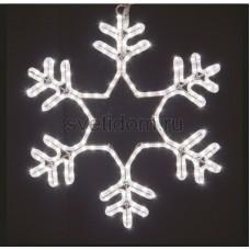 """Фигура световая """"Снежинка"""" цвет белый, размер 55*55 см, мерцающая Neon-Night 501-337"""