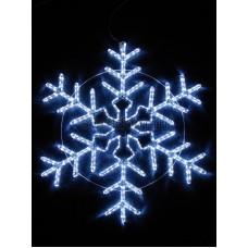"""Фигура световая """"Снежинка"""" цвет белый, размер 95*95 см, мерцающая Neon-Night 501-338"""