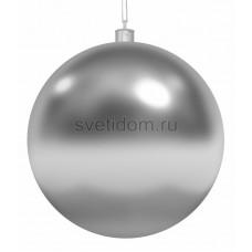 Елочная фигура Шар, 25 см, цвет серебряный Neon-Night 502-015