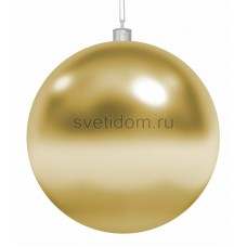Елочная фигура Шар, 15 см, цвет золотой Neon-Night 502-021