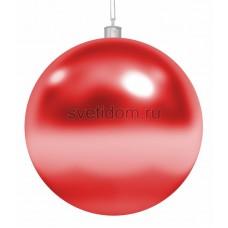 Елочная фигура Шар, 15 см, цвет красный Neon-Night 502-022