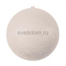 Елочная фигура Шар с блестками, 25 см, цвет серебряный Neon-Night 502-045