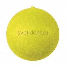 Елочная фигура Шар с блестками, 30 см, цвет золотой Neon-Night 502-051