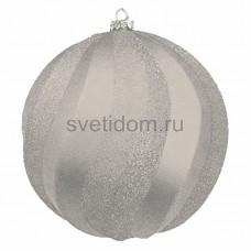 Елочная фигура Шар Вихрь, 20 см, цвет серебряный Neon-Night 502-065