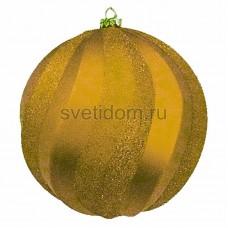 Елочная фигура Шар Вихрь, 20 см, цвет золотой Neon-Night 502-066
