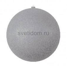 Елочная фигура Шарик, 25 см, цвет серебряный Neon-Night 502-145