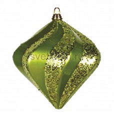 Елочная фигура Алмаз, 25 см, цвет зеленый Neon-Night 502-214