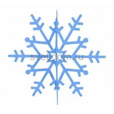 Елочная фигура Снежинка резная 3D, 31 см, цвет синий Neon-Night 502-343