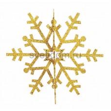 Елочная фигура Снежинка резная 3D, 61 см, цвет золотой Neon-Night 502-361