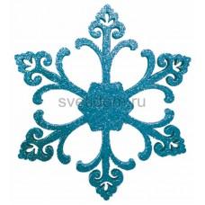 Елочная фигура Снежинка Морозко, 66 см, цвет синий Neon-Night 502-372